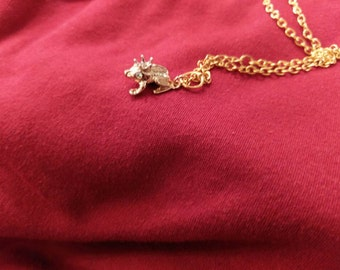 frog prince charming necklace