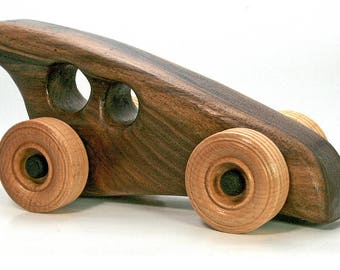 Hardwood Toy Cars - Handmade - Unique - Heirloom Quality