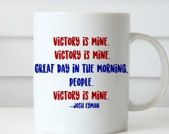 WEST WING MUG bartlet mcgarry lyman coffee mug west wing show mug coffee mug gift mug Josh lyman quote mug