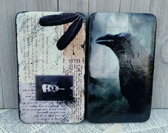 Edgar Allan Poe Wallet Raven Wallet Nevermore Gothic Wallet Literature Wallet Book Wallet Poetry Wallet Book Purse Poetry Purse Poe Purse