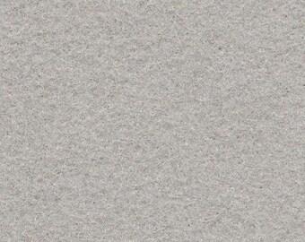 Wool Felt - Silver Grey - Sold by the Half Yard (BTHY)