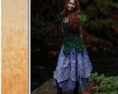 Fairy Skirt, Handmade, Custom, Flower Skirt, Petal Skirt, Festival Wear, Fairy Wear, Fairy Costume, Flower Fairy, Women, Renaissance Costume