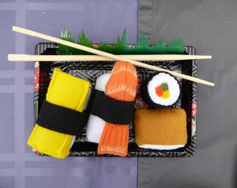 Felt food, Play Food for Kids, Pretend Play, Preschool Toy,  Play Food for Toddlers, Felt Sushi, Unroll and Re-roll, Sensory Toy, eco
