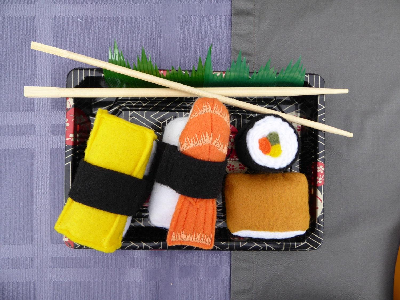 Felt Food Toys R Us : Focus toy felt sushi unroll and re roll pretend play food