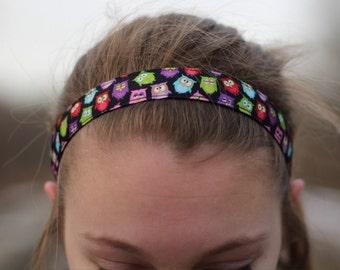 Owl Headband Gift for Her Stocking Stuffer - Owl Womens Headbands for Girls -Girls Headbands Hair Accessories for Girls-Kids Headbands Women