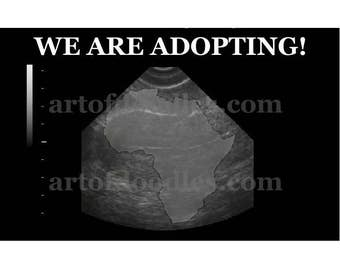 We are adopting from Africa,Adoption announcement,we are adopting a baby