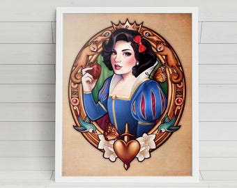 The Fairest signed Poster Art Print - 11x14