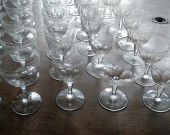 Rosenthal Crystal, Vintage Crystal, Vintage Rosenthal Crystal