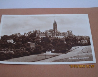 Real Photo postcard Glascow