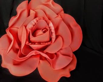 """RED Rose Jumbo Foam Rose 20"""" Diameter"""