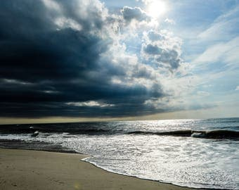 Stormy Seas Outer Banks Photography Digital Download