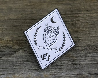 Enamel Pin - Night Owl