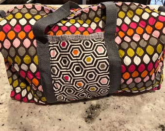 Children's quilted duffle bag
