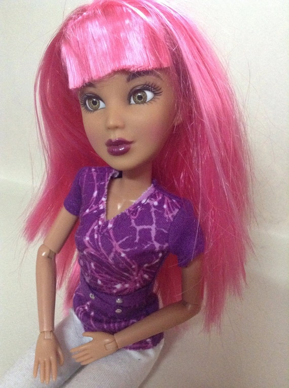 Liv Doll Wigs Replacement Hair Fashion Doll Accessories