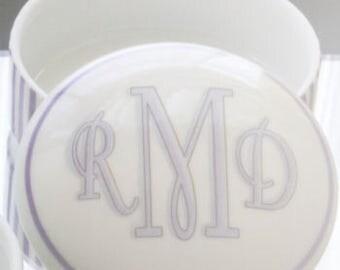 """Custom Hand Painted Porcelain Keepsake Box 3"""""""