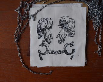 patch Claude Paradin medieval illustration