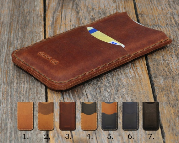 Nokia 2 8 6 5 3 PERSONALIZED ENGRAVED Case Pouch Handmade Cover Genuine Leather Shell Wallet Sleeve Rough Vintage Style Custom Sizes