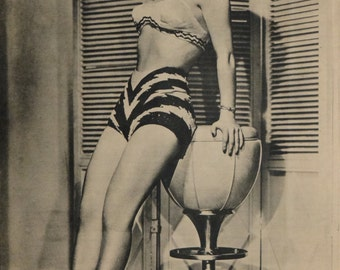 Nancy Porter, Pinup Girl, The Yank Magazine, WWII, 1945, Model Photo #2