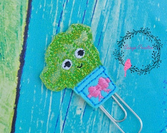 Kutie Cactus Planner Clip, Succulant Planner Clip, Plan,Planner, Paper Clip,Planner Accessory,Planner Clip, bookmark, gifts under 5, page cl