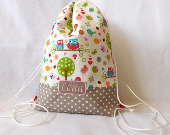 Kitbag OWL pair bright with taupe points