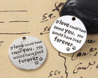 Pet Memorial Pendant/Charm