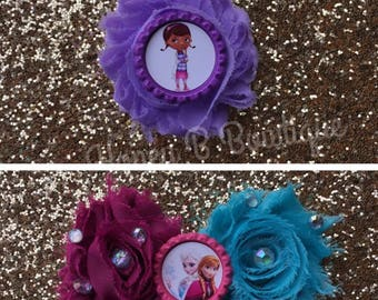 Flower Head Pieces