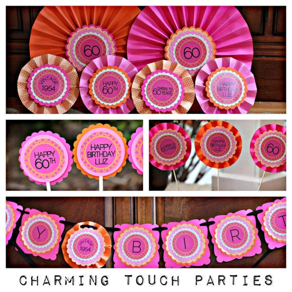 Trolls Happy Birthday Banner We Can Easily Add An: Birthday Party Decorations Party Centerpiece Birthday