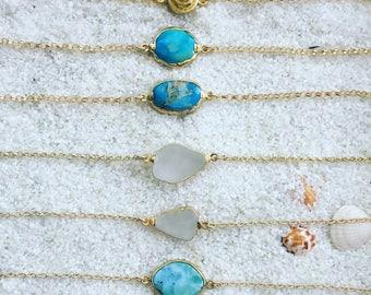 Ocean Goddess Bracelets 14k