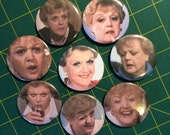 Angela Lansbury pins (mood set)