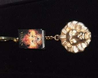 Chronicles of Narnia Book Keychain - Great Gift for Book Lovers!