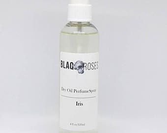Dry Oil Perfume Spray in Iris