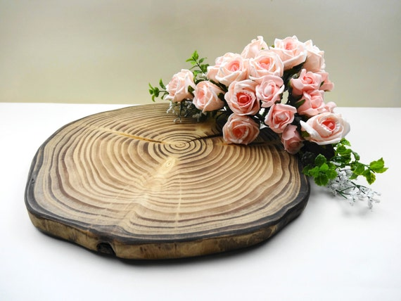 slab wedding cake 1314 wood slab wood cake stand wood 20189