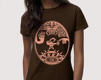 Mini demigod Front Tattoo - T-Shirt