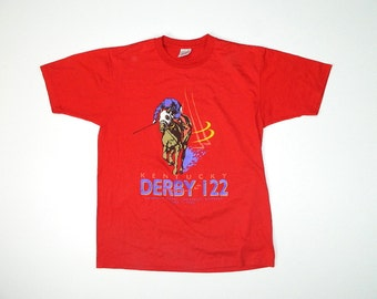 Vintage 90s Kentucky Derby T shirt...