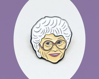 Golden Girls Sophia Petrillo Enamel Pin