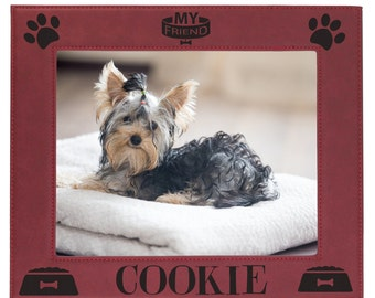 Personalized Dog Frame, Pet Picture Frame, Dog Picture Frame, Custom Pet Frame, Pet Photo Frame, Pet Gifts, Dog Lover Gift, Dog Gifts