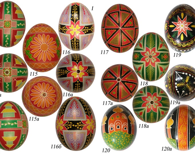 Traditional Ukrainian Pysanka - an Easter egg