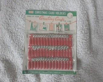 vintage card holders set of 45