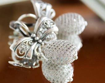 Handmade earrings BANTIQUE