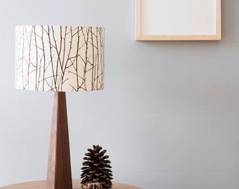 Woodland Lamp and Shade