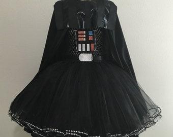 Darth Vader costume/ Darth Vader mask/ Darth Vader tutu dress/ Star Wars costumes/ storm trooper costume/ Star Wars birthday