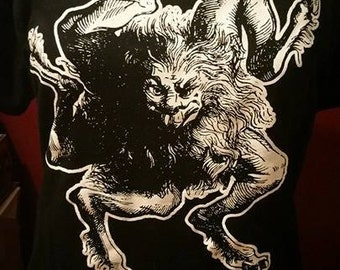 BUER SHIRT dictionnaire infernal demon ouija satan witch magik goat satanic baphomet