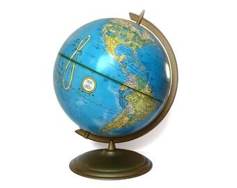 "Vintage Crams Imperial World Globe 12"" 1984-86"