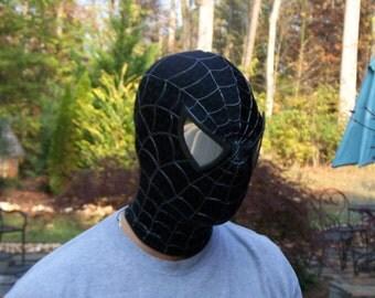 Black Spiderman Mask