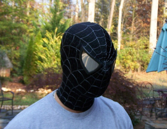 black spiderman mask - photo #15