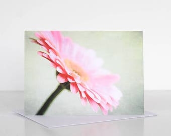 Photo greeting card, Photographic greeting card. Gerbera Photographic Greeting Card. Blank card. Floral greeting card. Flower greeting card.