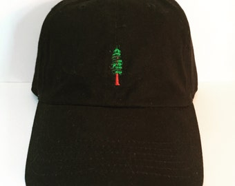 Giant Redwood Hat dad hat- monogramming/custom phrases available!