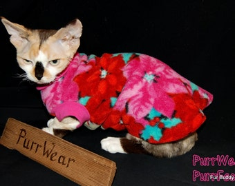 PurrWear PurrFect™ Cat Clothing for Sphynx, Devon Rex, Peterbalds and  for all cats.