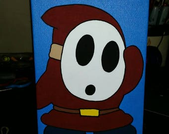 Shy Guy 5×7 Painting