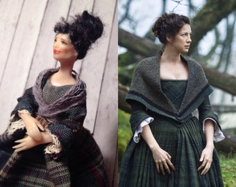 SALE Claire Beauchamp from Outlander gorgeous doll